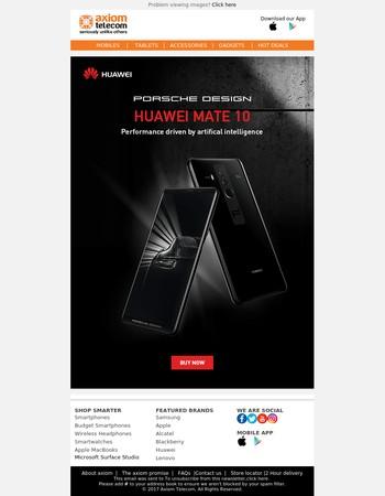 Axiom Telecom - Exclusive Gadgets this Diwali | Huawei W1 SmartWatch