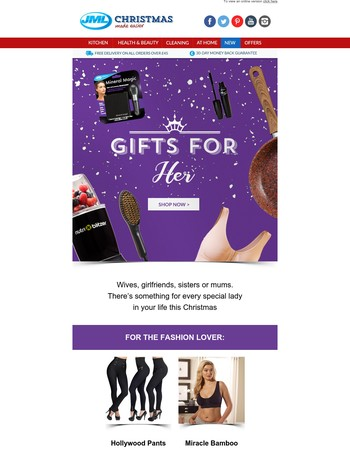 Perfect Christmas Gifts for Her