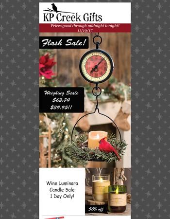 Super Sunday Flash Sale!