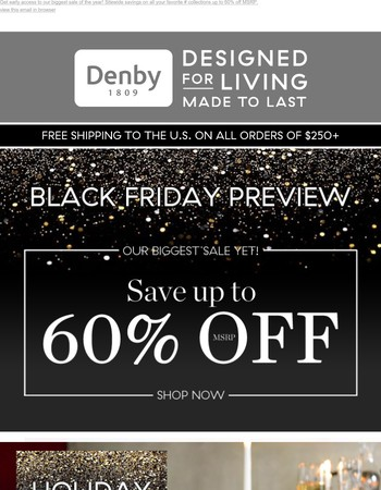 Hurry, up to 60% off sitewide ends tonight!