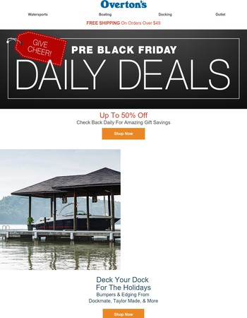 Pre-Black Friday Specials - New Deals Every Day!