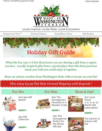 Made in Washington Coupons: 25% off Coupon, Promo Code Dec. 2017