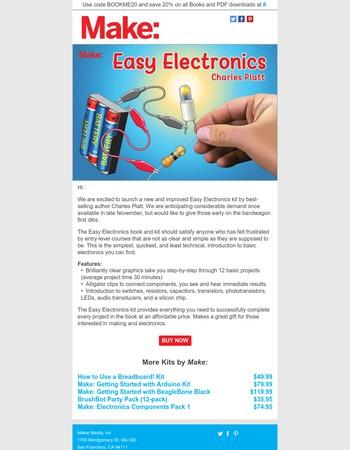Easy Electronics Kit Pre-Sale