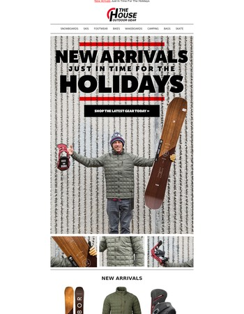 New Arrivals Just In Time For The Holidays