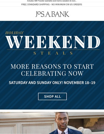 Final Hours of Weekend Savings