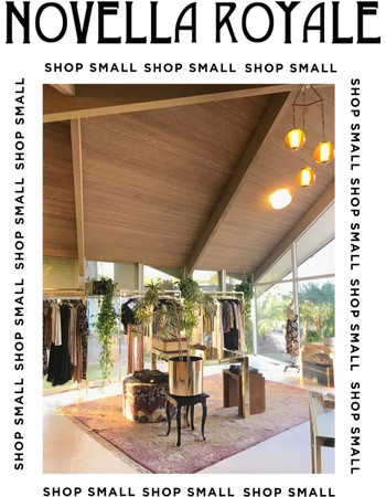 COME SHOP SMALL WITH US!!!