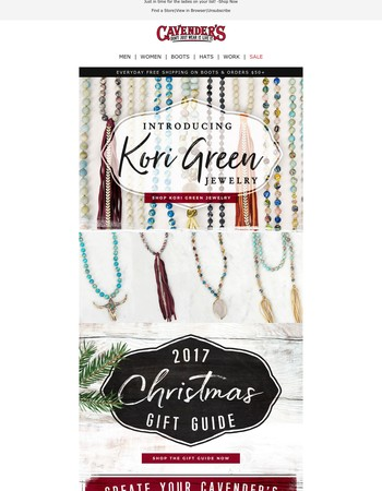 Introducing Kori Green Jewelry