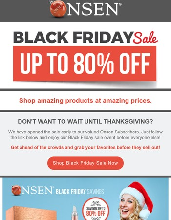 Pssst...This way to Black Friday Prices >>>