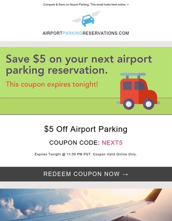 Save on your upcoming trip