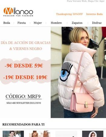 Milanoo Newsletter