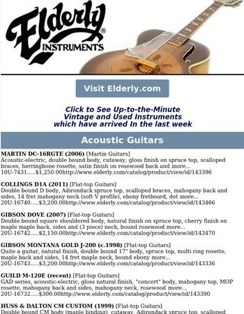 Used & Vintage Instruments Arrivals This Week