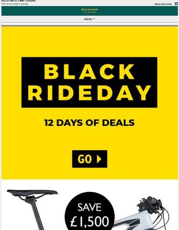 12 days of Black Rideday mayhem