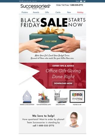 ☰ BLACK FRIDAY deals start TODAY ☰