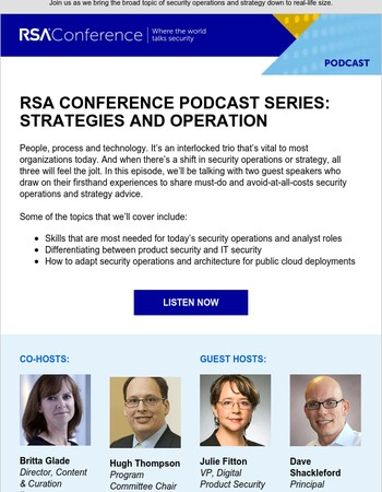 Podcast: Dos and don'ts for security operations & strategy
