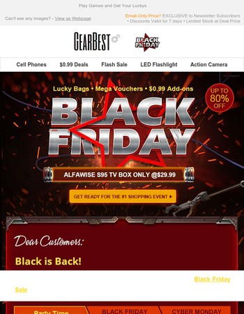 BLACK FRIDAYS MATTER | FREE Gear, LUCKY Draw + ULTIMATE Coupons