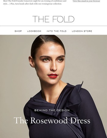 Chic After Dark   Plus, Meet the Fold Founder...