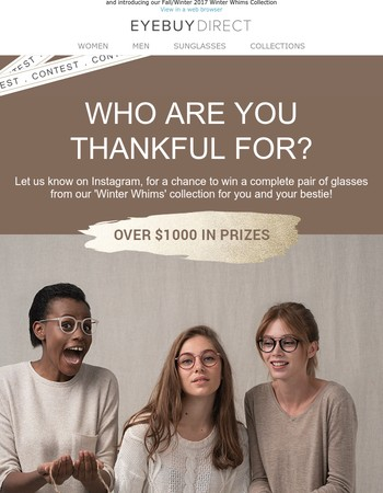 LAST DAY to give thanks & win frames