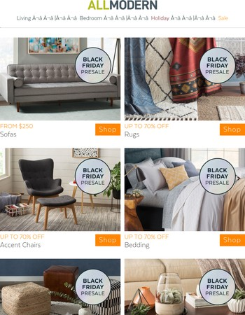 Early BLACK FRIDAY sofa deals in 3, 2, NOW