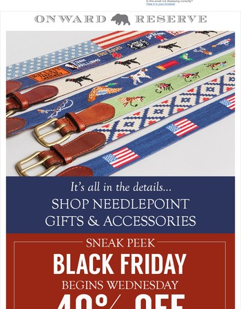 It's All In the Details + Sneak Peek of our Black Friday Deals