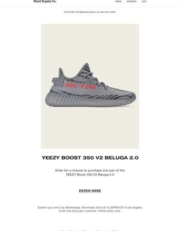 Special Release: YEEZY Boost 350 V2 Beluga 2.0