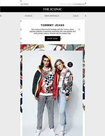 Get your limited edition Tommy Jeans