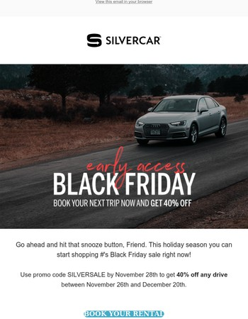 It's Silver Monday! 40% Off Sale Starts Today!