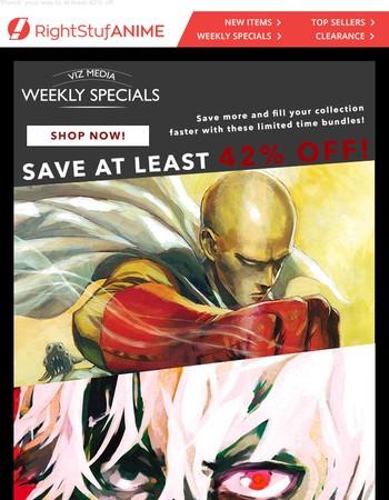 Viz has taken over the weekly specials!