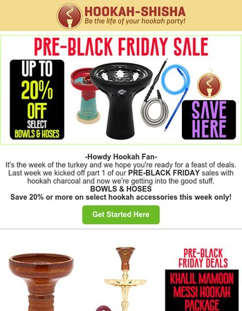 Black Friday Shopping Part 2: Get Your Head Start Today