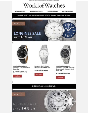 World Of Watches Newsletter