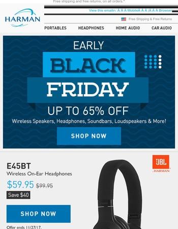 Pre-Black Friday Sale + Save the Date (Nov 23)