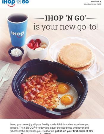 Order all your IHOP® favorites for pick-up.