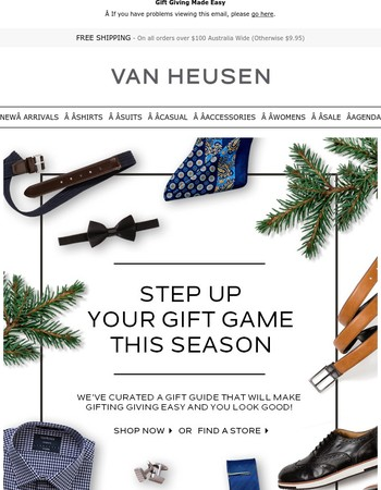 Step Up Your Gift Game This Season