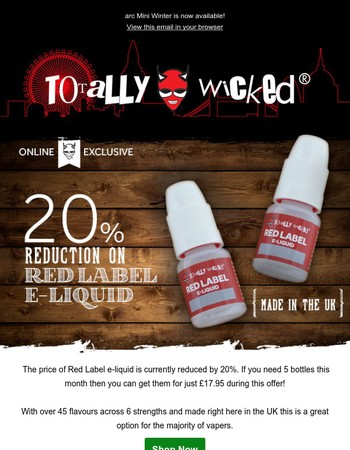 5 bottles of Red Label for £17.95!