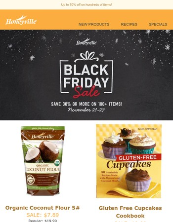 Huge Black Friday savings on all of your favorite items!