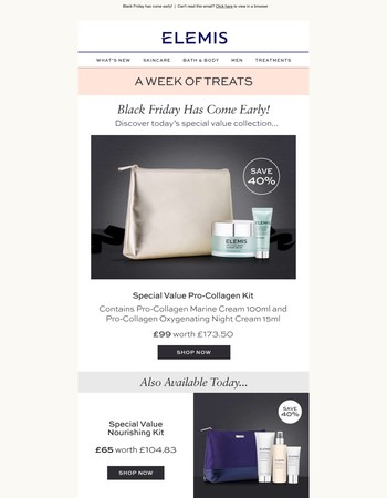 Discover today's special value Pro-Collagen Kit