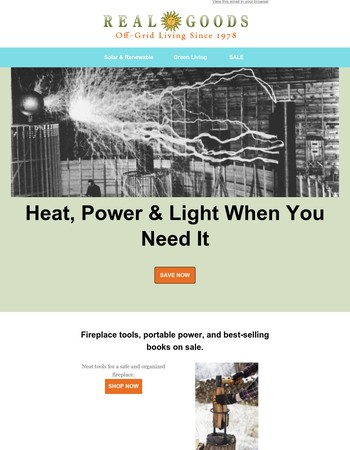 Heat, Power, and Light When You Need It