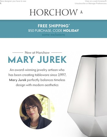 FREE SHIPPING + Mary Jurek