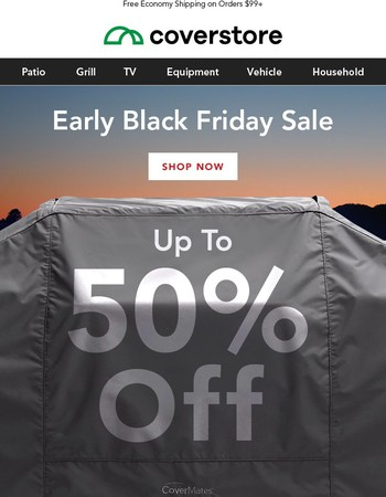 Early Access: Black Friday deals UP TO 50% OFF