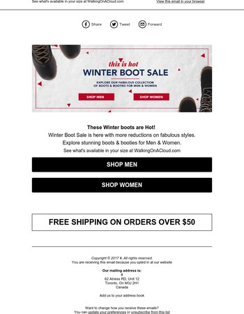 These Winter boots are Hot! Winter Boot Sale is here with more reductions on fabulous styles at WalkingOnACloud.com