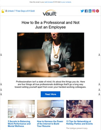 How to Be a Professional and Not Just an Employee