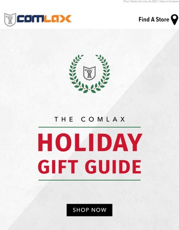 Shop Our Lacrosse Holiday Gift Guide