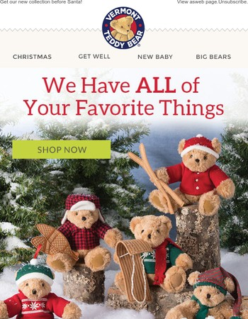 Our Christmas Catalog is Here-