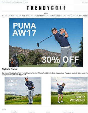 7db47e4aa Trendy Golf USA - What We Would Buy the Tour Wives if We Could Pick