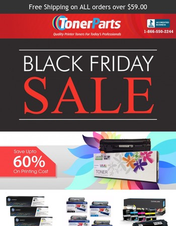 Black Friday Sale Starts Now, Hurry these deals won't last long