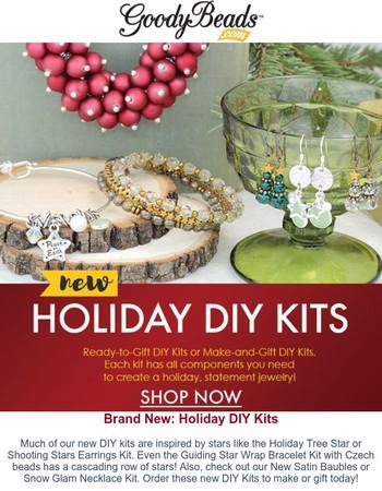 Brand NEW Holiday DIY Kits