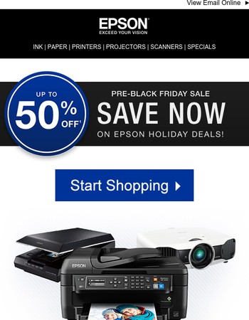 Save up to 50% - the pre-Black Friday Deals start now