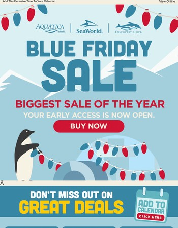 ⏰ The BIGGEST Sale of the Year is Almost Here ⏰