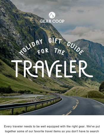 Gift Guide for Your Favorite Traveler
