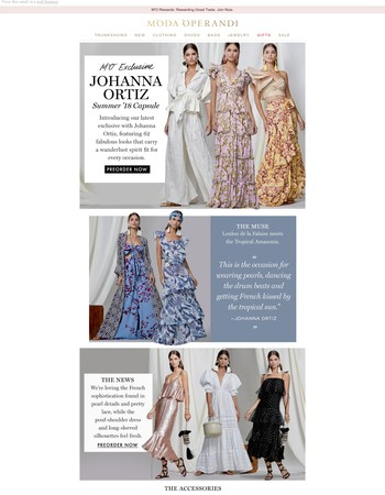 Exclusive: the new Johanna Ortiz Capsule you simply can't miss