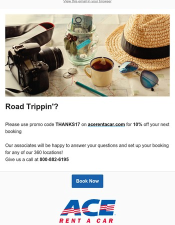 10% Off For Your Holiday Travels